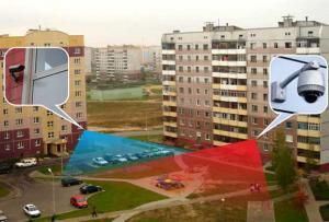 Видеонаблюдение на детской площадке